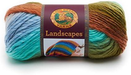 Bonne année, envoie de la la la joie Lion Landscapes Yarn-Meadow B06Y49D84N 249f4b