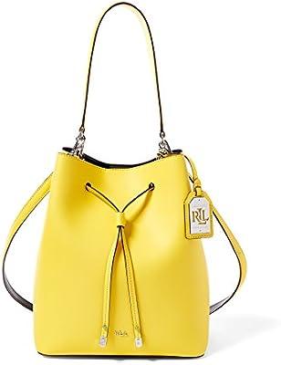 Ralph Lauren - Bolso de asas de Piel para mujer amarillo amarillo