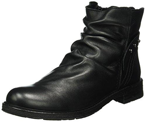 Buffalo London - Es 30870 Garda, Stivali bassi con imbottitura leggera Donna Nero (Nero (PRETO 01))