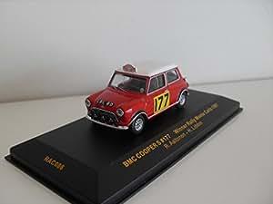 Austin BMC Cooper S Vainqueur Monte Carlo 1967 - Ixo 1/43e
