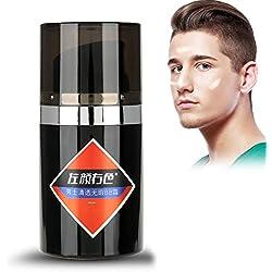 hommes BB crème, hydratant anti-cernes fond de teint cosmétique maquillage 50g(#2)