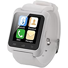 EasySMX Touch Screen Smart Watch Bluetooth Compatibile Con Dispositivi IOS e Android Telefoni e Smartphone Chiamata Contapassi Fotocamera WhatsApp Smartwatch Economico