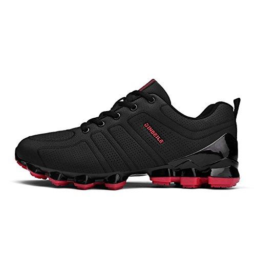 Casual Schuhe Atmungsaktiv Athletisch Outdoors Rennen runner Anti-Rutsch Turnschuhe Herren Rot