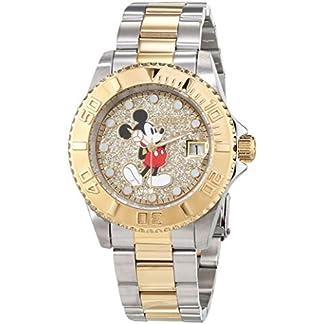 Invicta 27382 Disney Limited Edition Mickey Mouse Reloj para Mujer acero inoxidable Cuarzo Esfera oro