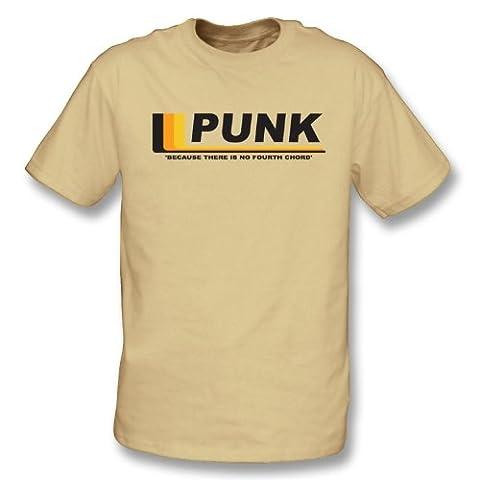 Punk - puisqu'il n'y a aucun quatrième T-shirt de corde Xx-Grand, sable de couleur