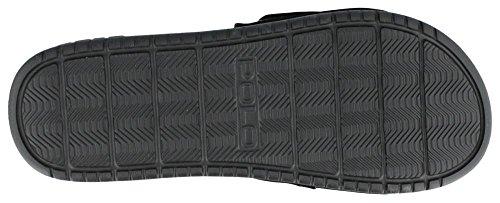 Polo Ralph Lauren Romsey Sandal Blanc/noir