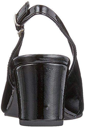 Marco Tozzi 29600, Escarpins Femme Noir (Black Patent)