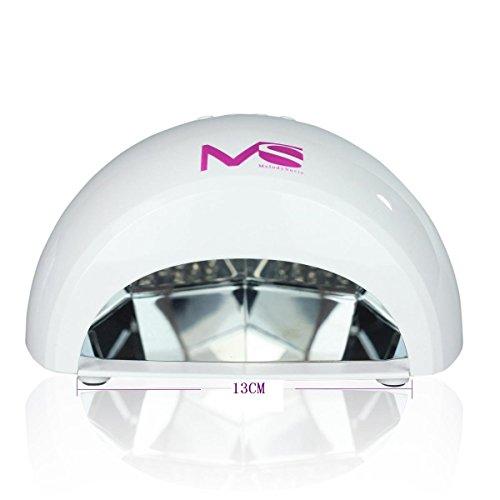 LED Nageltrockner – Lichthärtegerät weiss für LED Gele - 5