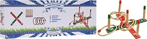 Wurfspiel Ringspiel Holzwurfspiel Ringwurfspiel Kinder Spiel Garten S090 -