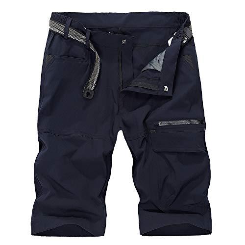 LHHMZ Shorts Cargo Hombre Pantalón Combate Trabajo