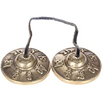 Tingsha Tibetan Bell Meditation Handcrafted Cymbal Bell Copper Sonido crujiente