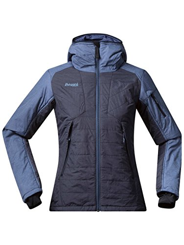 Bergans Bladet Insulated Damen Jacke, Farbe MidnightBlue/DustyBlue, Größe L