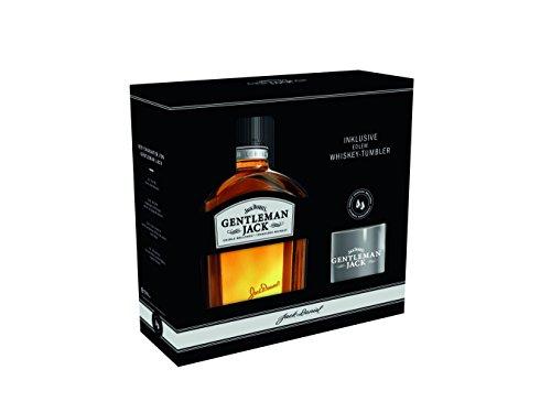 Jack Daniel's Gentleman Jack Rare Tennessee - Geschenkset mit Tumbler - limitiert Whisky (1 x 0.7 l)