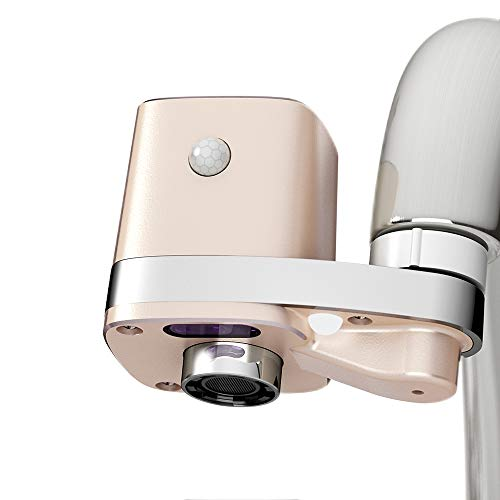 Techo Autowater B, Adaptateur Automatique Sans Contact pour Robinet de Salle de Bains, Adaptateur pour Détecteur de Mouvement pour Robinet de Salle de Bains