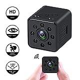 HankerMall Caméra Mini-caméra 1080P HD Spy Vision Nocturne CMOS Caméra 155 Degrés...