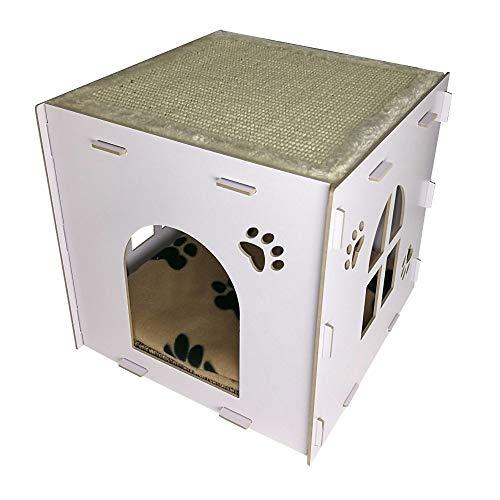 * Heritage Cat Kitten CT4 Box cama rascador cama escalada Centro de Actividad Características del producto: * Calidad superior; * Dos niveles y almohadilla superior para que tu gato descanse y explote. * Almohadilla de cama de forro polar. * Adecuado...