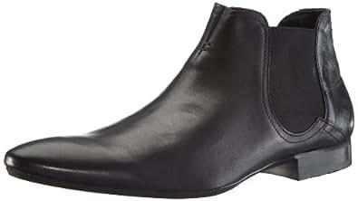 Hudson Mens Moran Desert Boots Black Black Size: 46