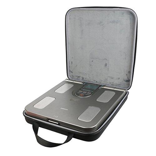 co2CREA Veranstalter Reise Lagerung Tragen Taschen Hülle für Omron BF508 Personenwaage Körperfett-Körperanalysegerät
