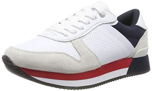 Tommy Hilfiger Active City Sneaker, Zapatillas para Mujer, Rojo RWB 020, 38 EU