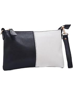 Vain Secrets Umhängetasche Clutch kleine Abendtasche mit Schulterriemen und Handgelenk Schlaufe