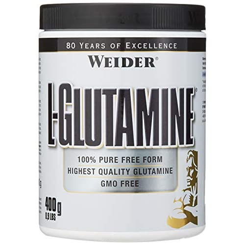 Weider L Glutamine, 80 servings, Pure High Quality L-Glutamine powder, Repair and build Muscle