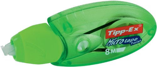 BIC Corrección Roller Tipp-Ex  Micro Tape Twist, 8 m x 5 mm, color verde