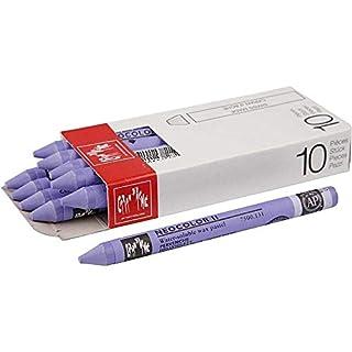 AGX Neocolor II, Wachsmalkreide, Stärke: 8 mm, Länge: 10 cm, 10 Stück von Caran d´Ache (Hellviolett)
