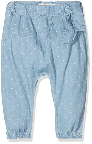 NAME IT Baby-Mädchen Hose Nbfrie Dnmablina 1079 Pant, Blau (Light Blue Denim Light Blue Denim), 56