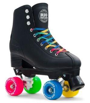Rio Roller Figure Rollschuhe Disco Roller schwarz