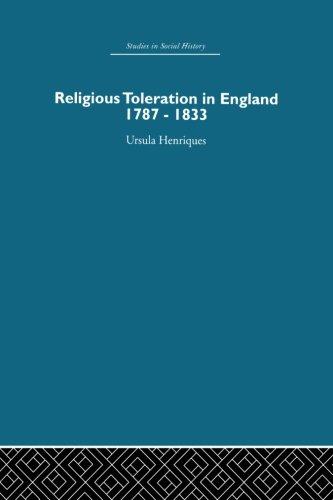 Religious Toleration in England: 1787-1833 por Ursula Henriques