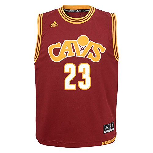 Outerstuff Teen-Boys Nba Youth 8-20 Cleveland Cavaliers James Replica Stretch Alternate Jersey