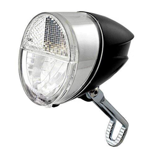 nean Fahrrad-Dynamo-CREE-LED-Licht-Lampe, Frontleuchte, mit Lichtautomatik, 30 Lux, StVZO Zulassung - Lampe Standlicht Set
