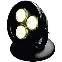 AquaForte Estanque y Jardín LED Lámpara HP12–1, 1x 12W, 12V, Color Negro