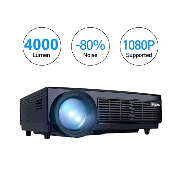 Vidoprojecteur-WiMiUS-Vidoprojecteur-Full-HD-Supporte-1080P-Rtroprojecteur-Home-Cinma-Projecteur-LED-55000-Heures-Porjecteur-LCD