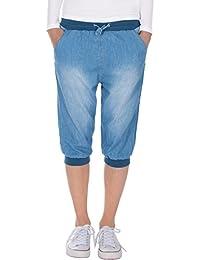 Fraternel Pantalón corto Shorts donna capri bermuda