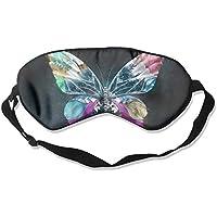 Colorful Amazing Butterflies 99% Eyeshade Blinders Sleeping Eye Patch Eye Mask Blindfold For Travel Insomnia Meditation preisvergleich bei billige-tabletten.eu