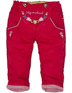 BONDI Lederhose ´Trachtenherz Alpenglück´ Beige - Fesche Trachtenhose vom Markenhersteller BONDI Kidswear für...