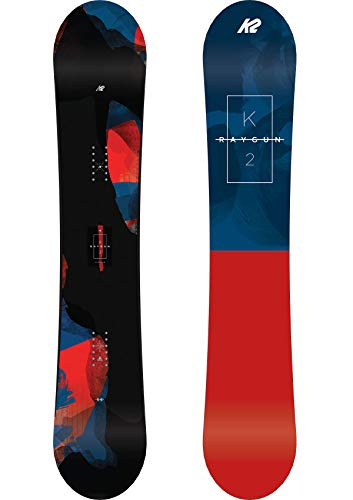 K2 Herren Raygun Snowboard, rot-blau-schwarz, 161 cm, 11C0012.1.1.161