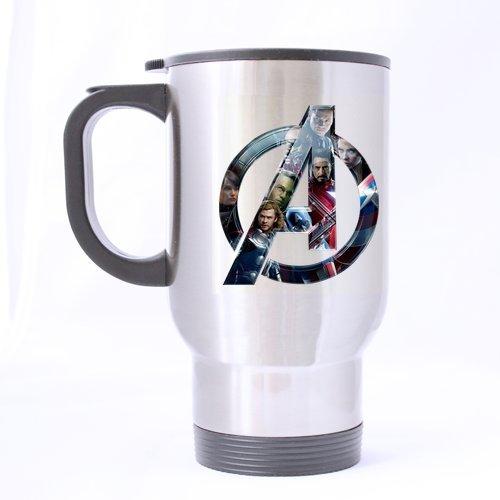Der Avengers Buchstabe eine Design Travel Mug Trinkb Creative Sport Cup Personalisierte Tea Cup 14oz