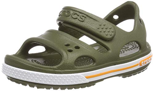 crocs Unisex-Kinder Crocband Ii Ps K Sandalen, Grün (Army Green 309), 22/23 EU