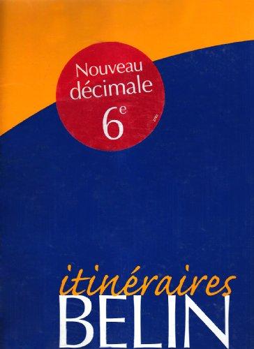 Maths, 6e, 2000, itinéraire, prof par Pene