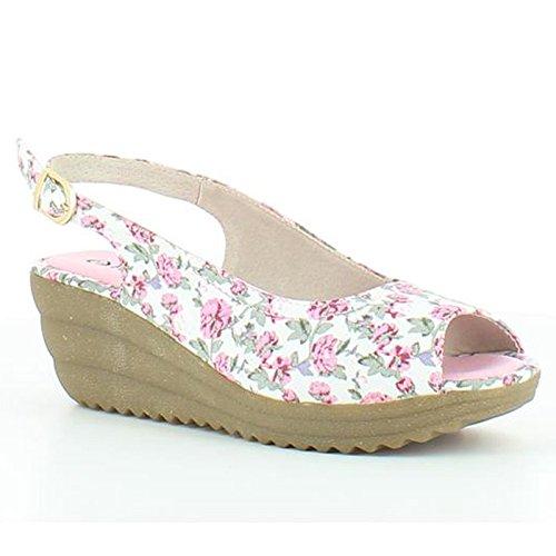 Heavenly Feet , Damen Sandalen Weiß