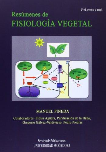 Descargar Libro Resúmenes de fisiología vegetal de Manuel Pineda Priego