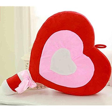 flashing lights- Forme la personalidad del corazón - Lollipop en forma de almohada creativo Lollipop Amor Almohada Cojines