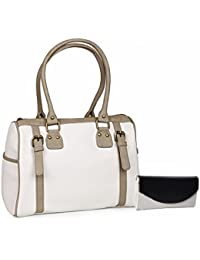 FASHION ECCO Designer Handbag And Clutch Combo For Girls And Women's (Multi Colour) Party Ware