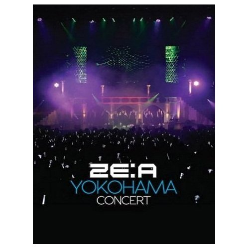 Kpop DVD, ZE:A YOKOHAMA CONCERT 2 DISC DVD + PHOTOBOOK *Sealed* -