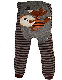 """Dotty Fish - Jambières en laine """"Brown Fantastic Mr Fox """" pour bébés et jeunes enfants"""