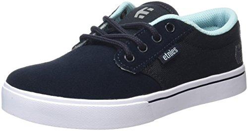 Etnies Jameson 2 Eco, Chaussures de Skateboard Mixte Enfant, Noir Bleu (Navy/Blue/White424)