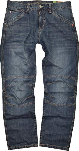 Timezone Herren Jeans Cesare 3315 Light Ink Worker (W36/L32)