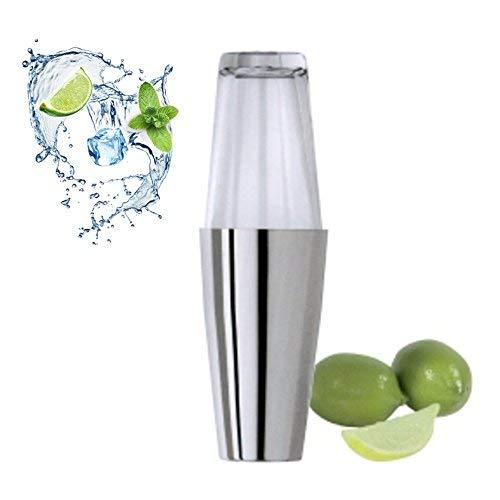 Cocktailshaker Boston Ersatzbecher Shaker Barshaker Edelstahl 0,85 Liter